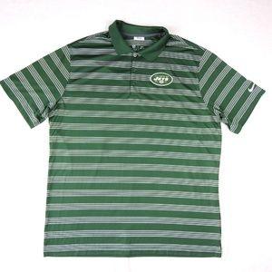 New York Jets Nike NFL Dri-fit Men Green Polo XL